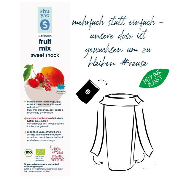 fruit mix snack sticker