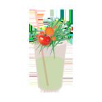 green garden shake