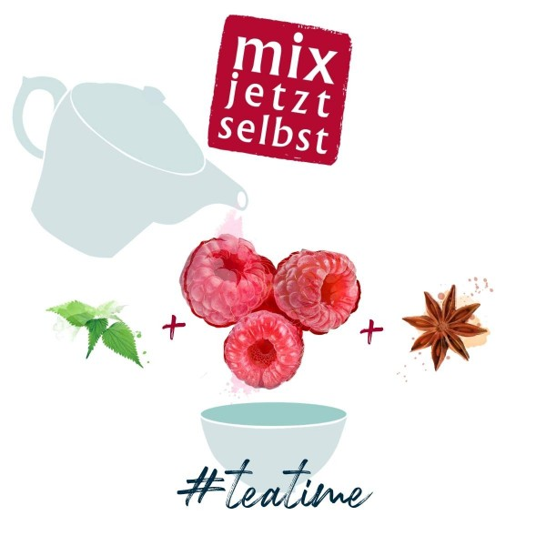 mix jetzt selbst - create your tea