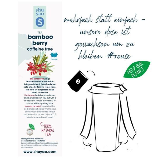 bamboo berry sticker