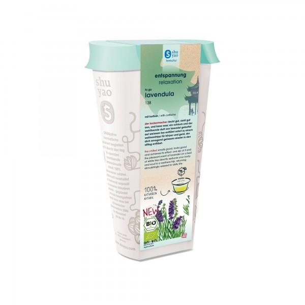 138. lavendula  tee in recyclebarer dose