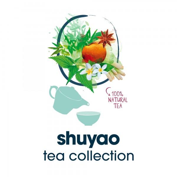 shuyao tea collection- tee ohne koffein in naturreiner blattqualität