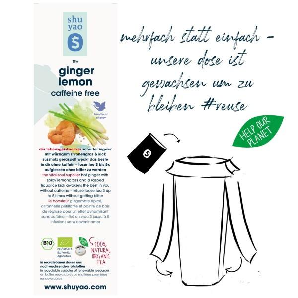 ginger lemon sticker
