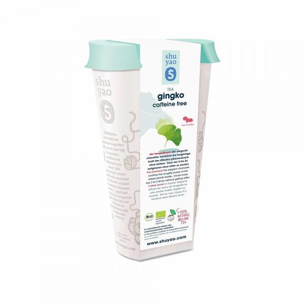 111. bio ginkgo tee in recyclebarer dose