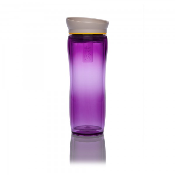 purple | yellow | taupe tea maker