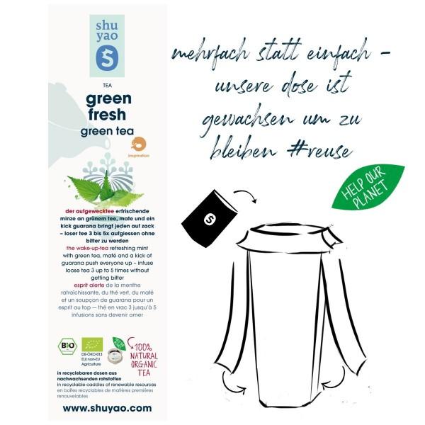 green fresh sticker