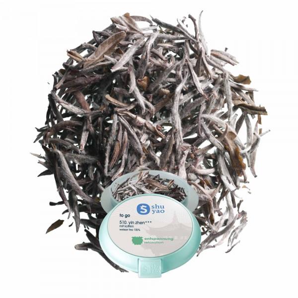 510. yin zhen tee in recyclebarer tagesdose