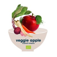178. veggie apple crunch snack bio superfood