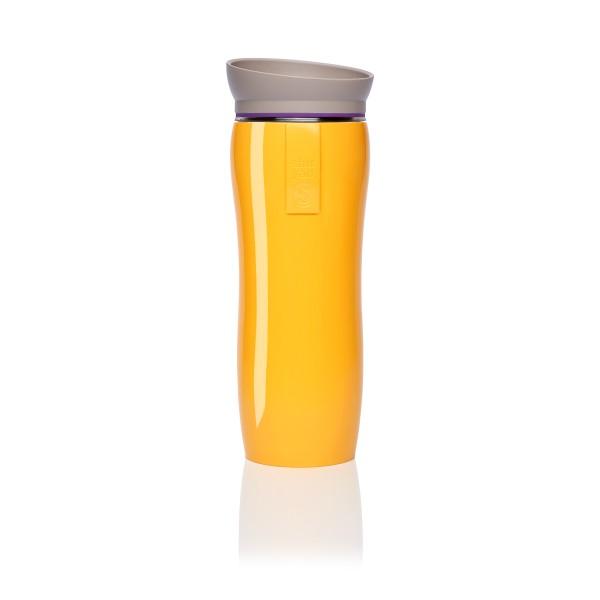 orange glossy | purple | taupe tea maker