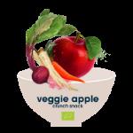 veggie apple crunch snack