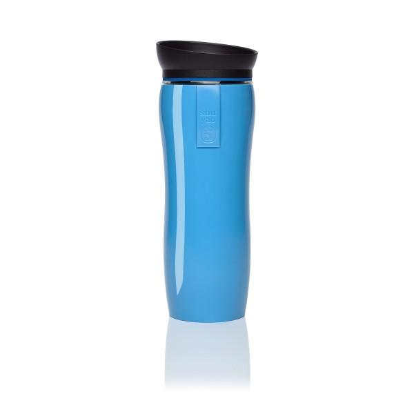 blue glossy | azur | black tea maker