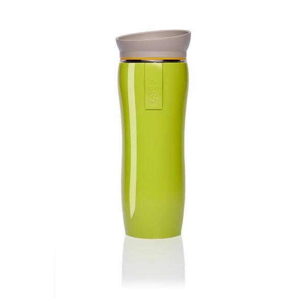green glossy   yellow   taupe tea maker