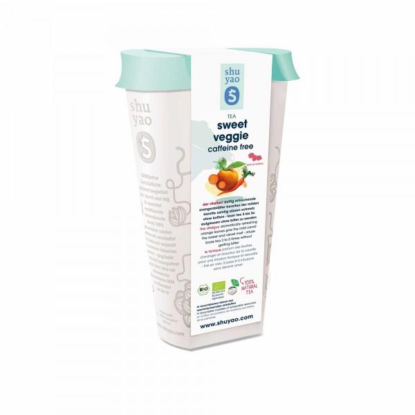 156. sweet veggie bio tee in recyclebarer dose