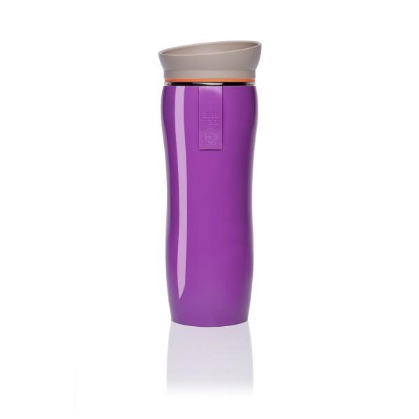 purple glossy | orange | taupe tea maker