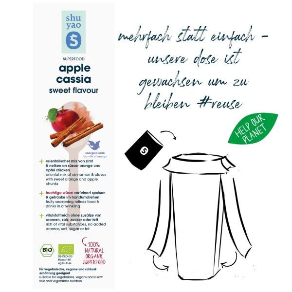 apple cassia sweet flavour sticker