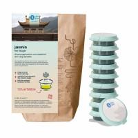 shuyao jasmine tea set- jasmin tee in probiertuete mit tee in tagesdosen recyclebar
