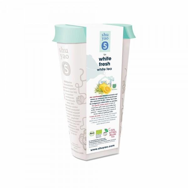 114. white fresh bio tee in recyclebarer dose