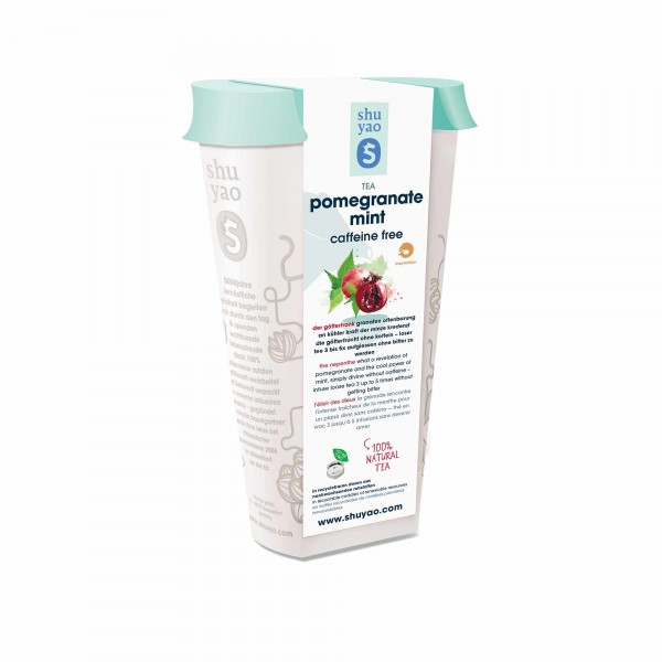131. pomegranate mint tee in 75g dose