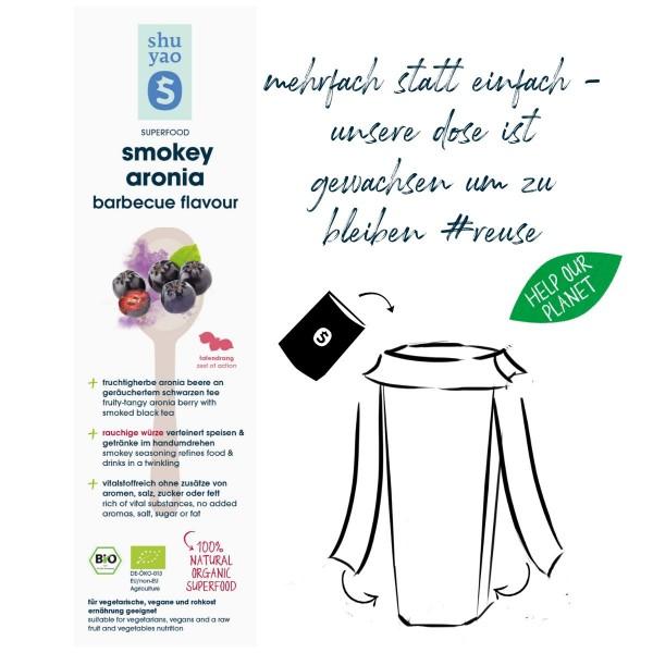 smokey aronia barbecue flavour sticker