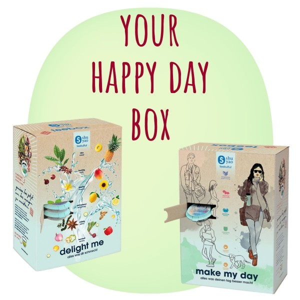 create your happy day box - in schöner box