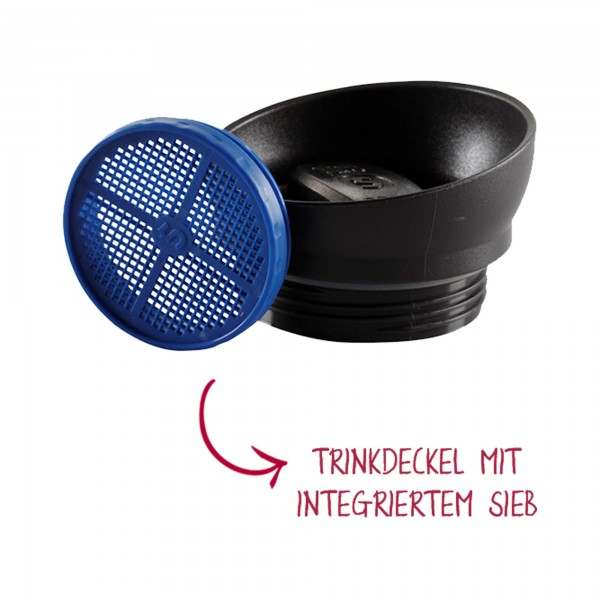 shuyao drehdeckel mit sieb - drehdeckel mit sieb für teebereiter made in germany