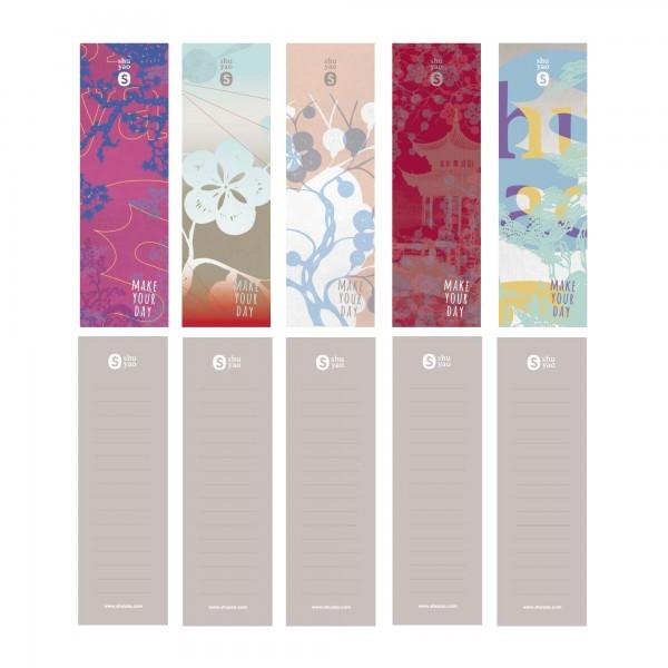 asia sticker set - 10 teiliges aufkleber set im asia style