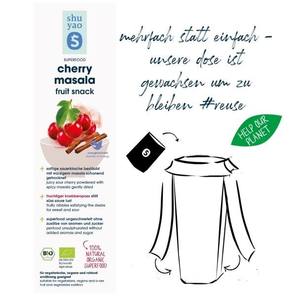 cherry masala fruit snack sticker