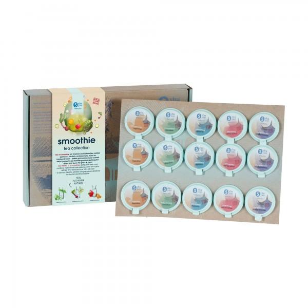 shuyao smoothie bio tea collection- bio tee in geschenkbox mit recyclebaren tagesdosen