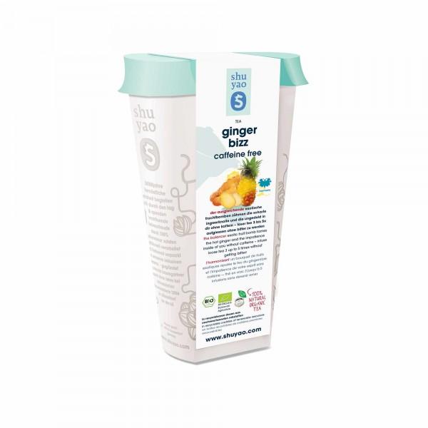 117. ginger bizz bio tee in recyclebarer dose