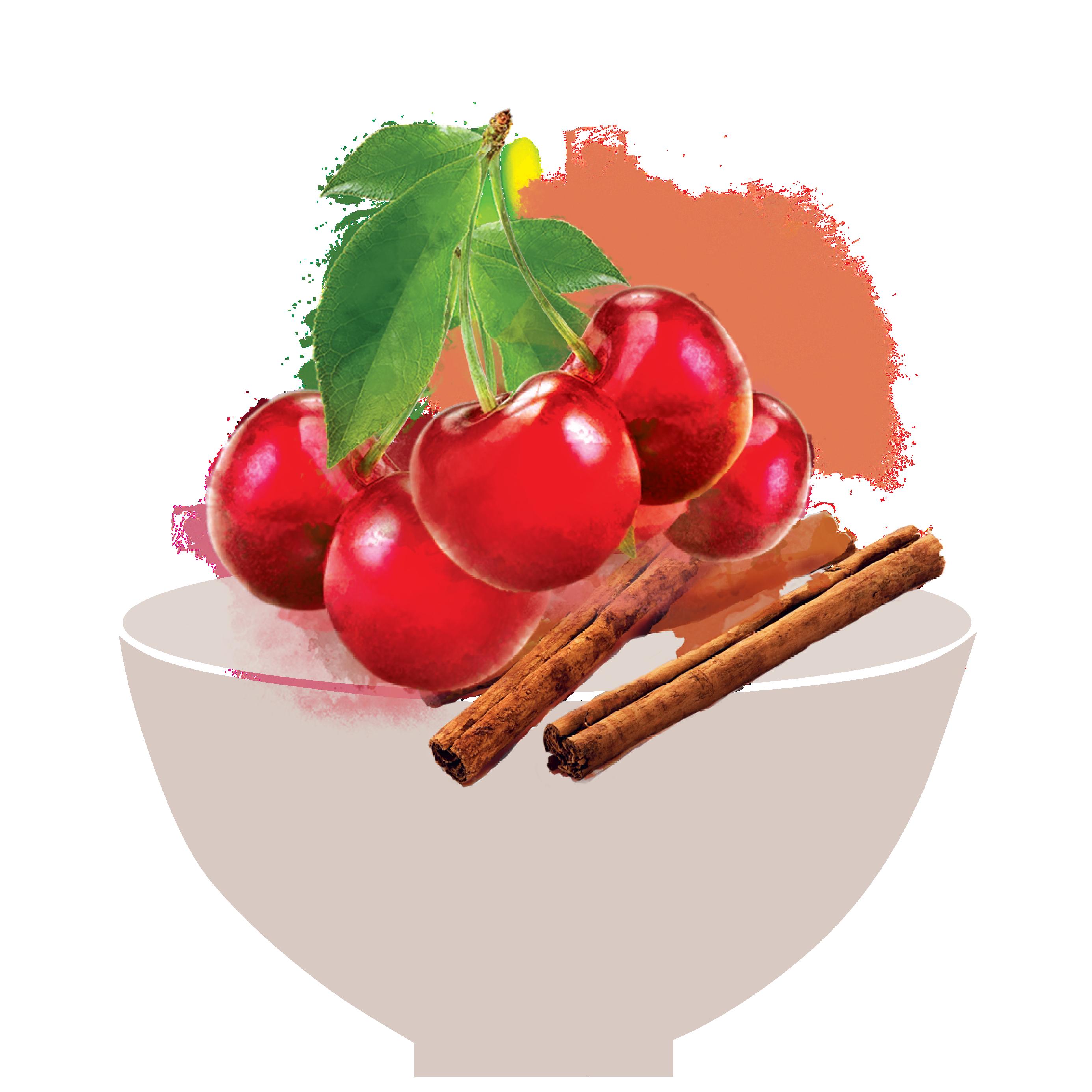 cherry masala fruit snack