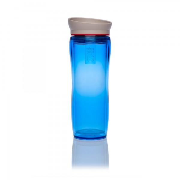 blue   red   taupe tea maker