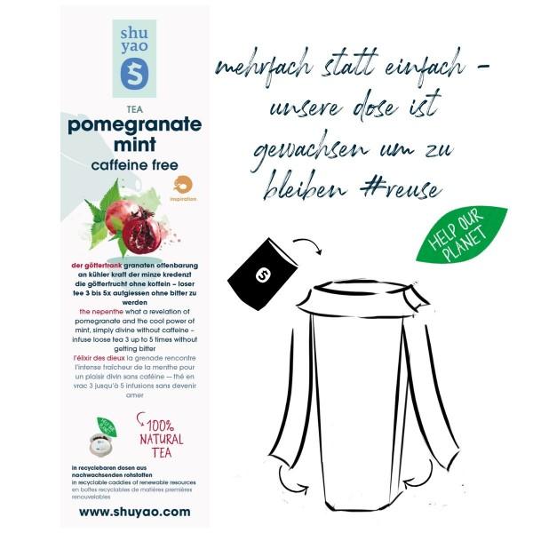 pomegranate mint sticker