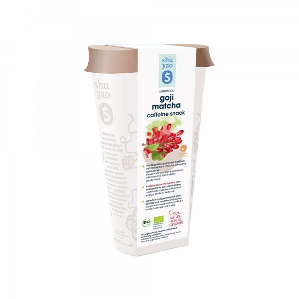 175. goji matcha snack bio superfood in recyclebarer dose