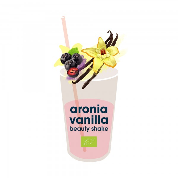 172. aronia vanilla shake bio superfood