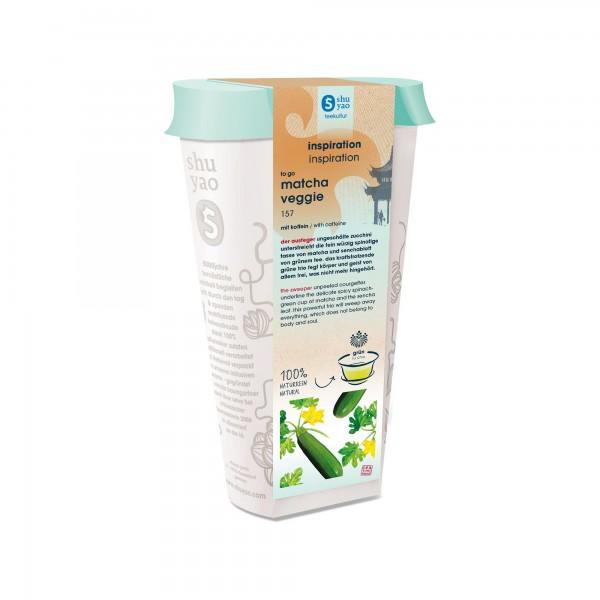 157. matcha veggie bio tee in recyclebarer dose