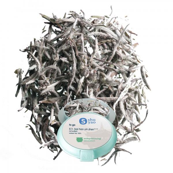 511. bai hao yin zhen tee in tagesdose einzeln recyclebar