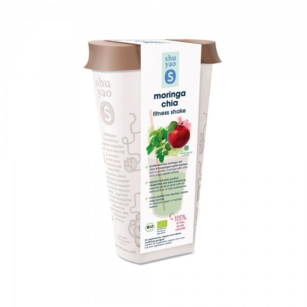 171. moringa chia shake bio superfood in recyclebarer dose