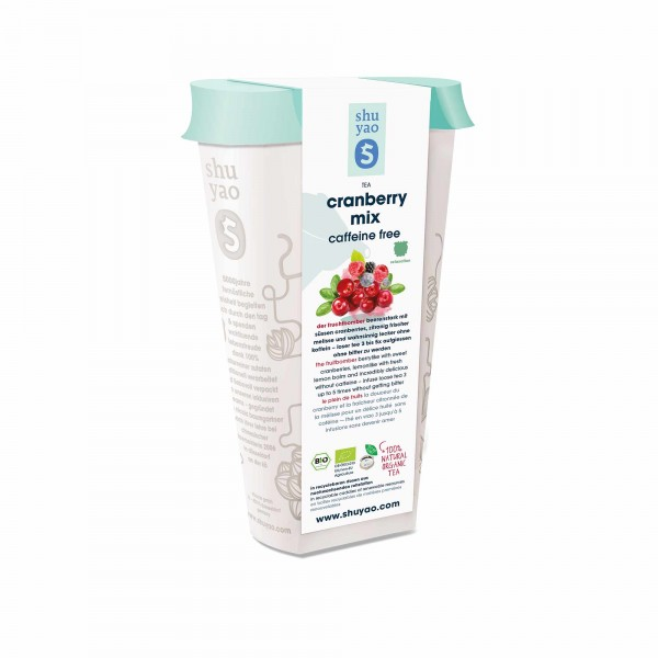 128. cranberry mix bio tee in recyclebarer dose