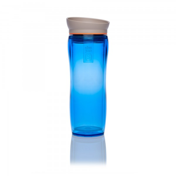 blue | orange | taupe tea maker