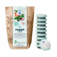 shuyao veggie tea set- gemüsetee in probiertuete mit tee in tagesdosen recyclebar