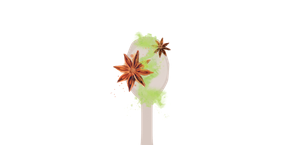 superfood würze mit matcha und süssem anis