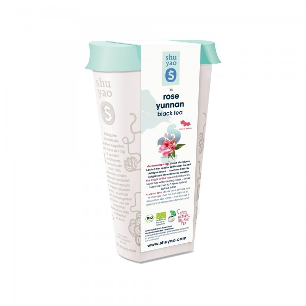 23. rose yunnan bio tee in recyclebarer dose