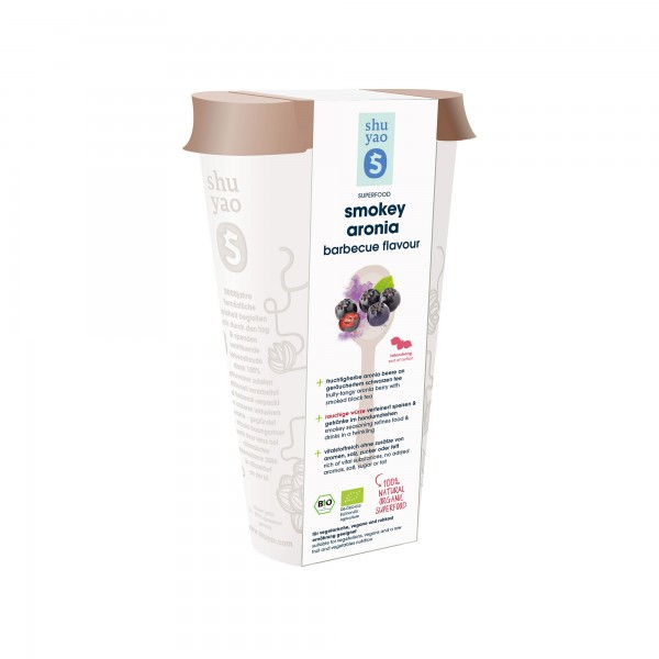 181. smokey aronia barbecue bio flavour  in recyclebarer dose