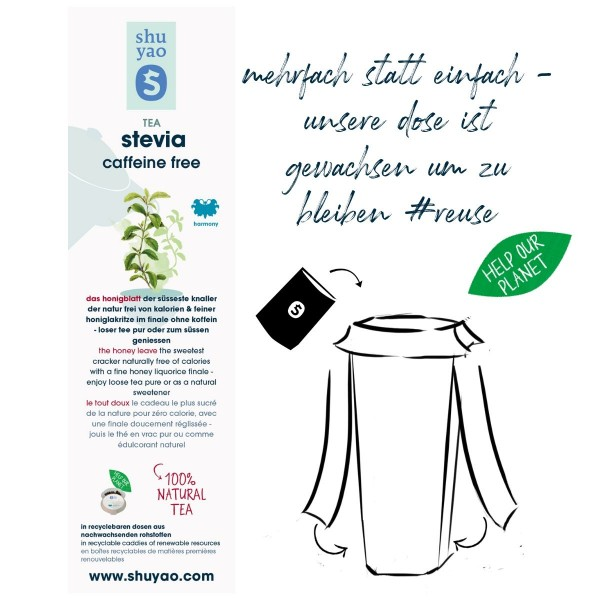 stevia sticker