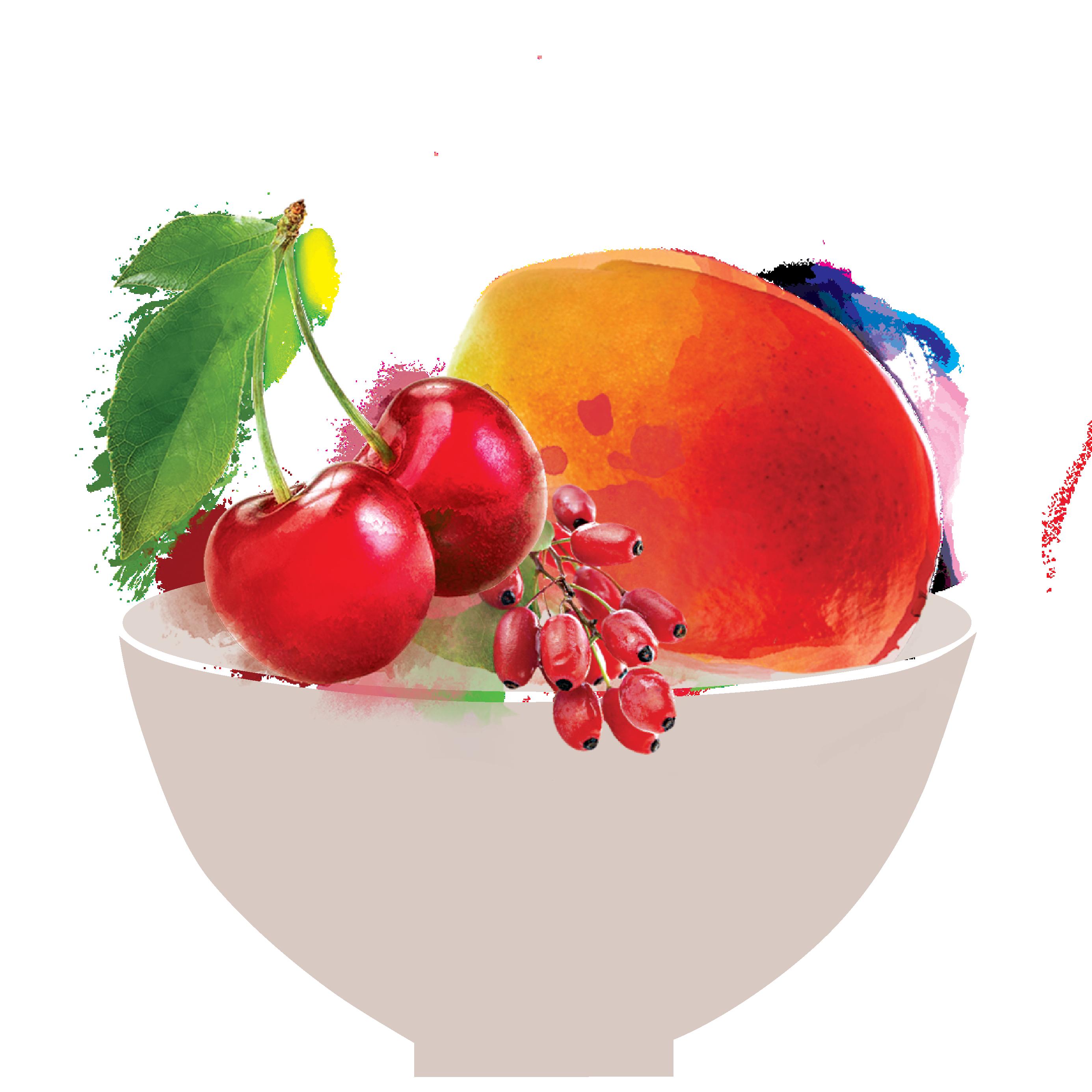 fruit mix snack